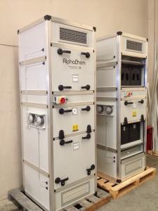 Gas filtration unit