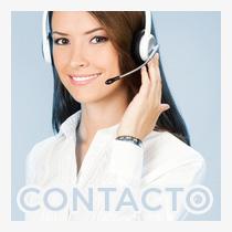 operadora con teléfono manos libres, contacto alphachem adsorbentes